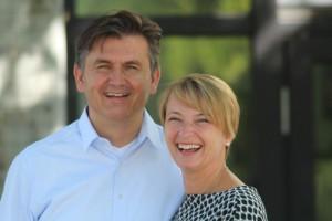 Marino Visintin und Sandra